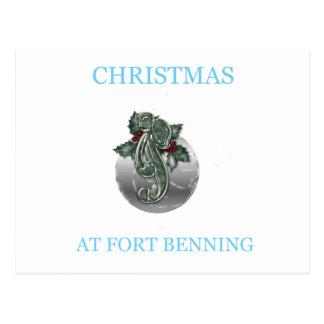 Navidad en Fort Benning 7 Tarjeta Postal