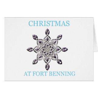 Navidad en Fort Benning 8 Tarjetas
