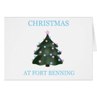 Navidad en Fort Benning 9 Tarjetón