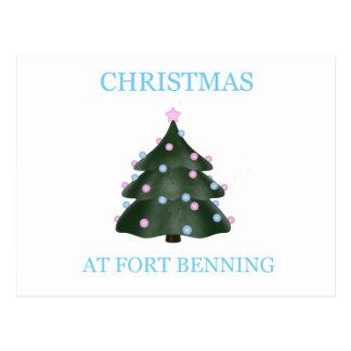 Navidad en Fort Benning 9 Tarjetas Postales