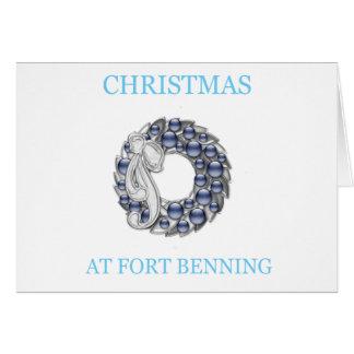 Navidad en Fort Benning Felicitacion