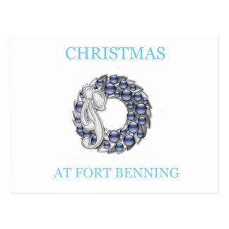 Navidad en Fort Benning Tarjetas Postales