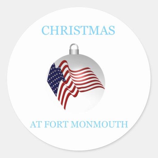 Navidad en Fort Monmouth 13 Pegatinas