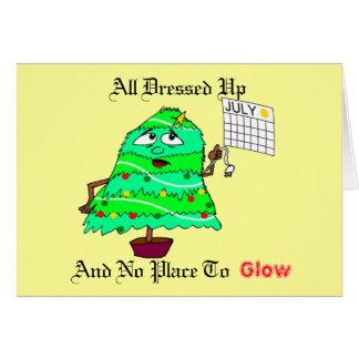 Navidad en julio tarjeta de felicitación