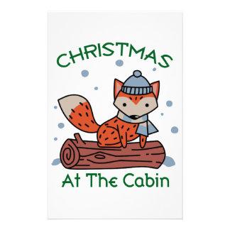 Navidad en la cabina papelería de diseño