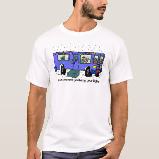 Navidad en la camiseta del camino