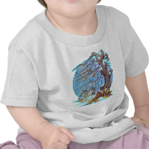 Navidad en la camiseta del niño de Pasillo del due