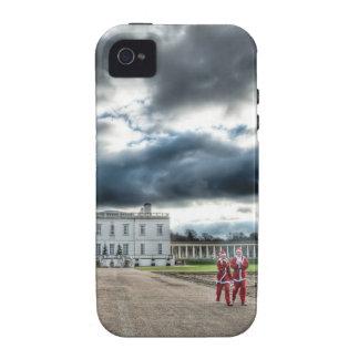 Navidad en la casa de la reina, Greenwich Londres Case-Mate iPhone 4 Carcasa