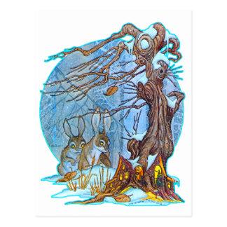 Navidad en la postal de Pasillo del duende