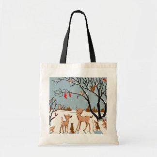 Navidad en las maderas bolsa