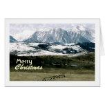 Navidad en los Rockies, Montana Felicitaciones
