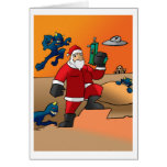 Navidad en Marte Tarjeton
