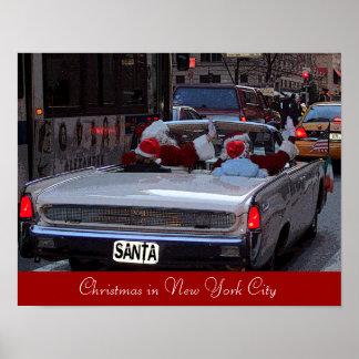 Navidad en New York City Posters