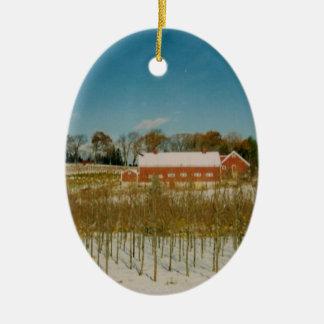 Navidad en Nueva Inglaterra Ornamentos De Navidad