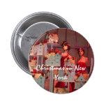 Navidad en Nueva York Pin