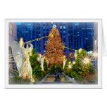 Navidad en Nueva York Tarjeta