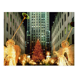 Navidad en Nueva York Tarjetas Postales