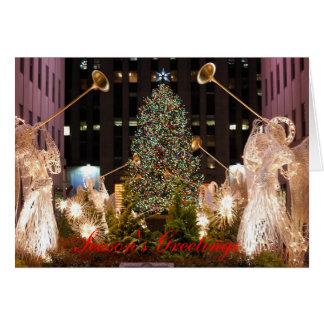 Navidad en Nueva York Tarjetón