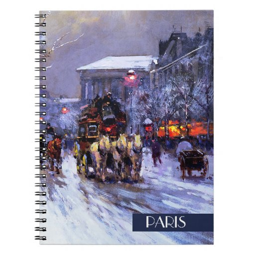 Navidad en París. Cuaderno del regalo del navidad