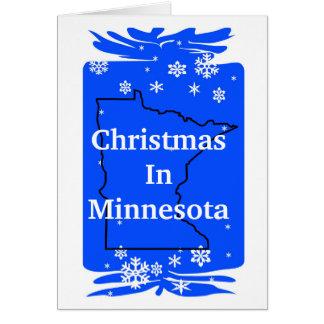 ¡Navidad en personalizar de la tarjeta de Navidad