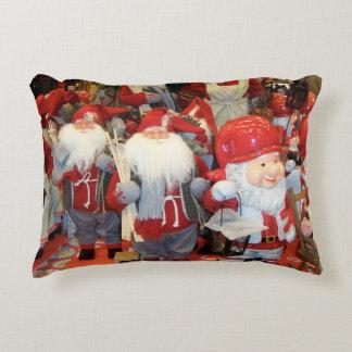 Navidad en Suecia Cojín Decorativo