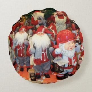 Navidad en Suecia Cojín Redondo