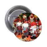 Navidad en Suecia Pin Redondo 5 Cm