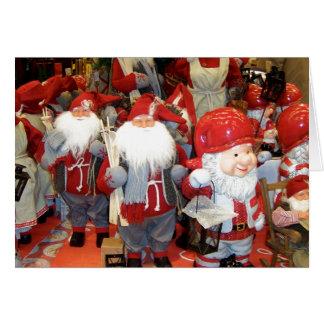 Navidad en Suecia Tarjeton