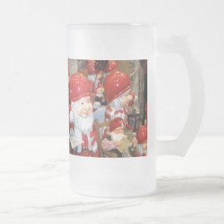 Navidad en Suecia Taza Cristal Mate