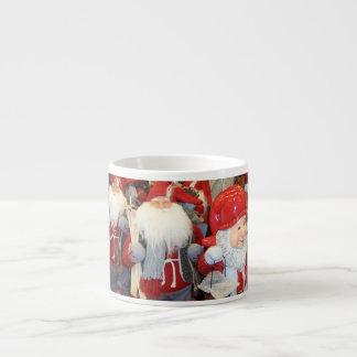 Navidad en Suecia Taza Espresso
