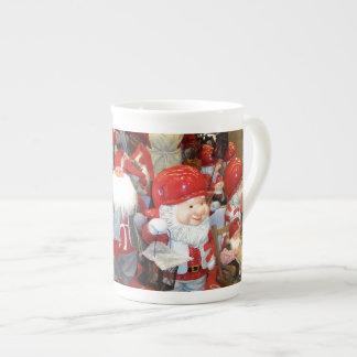 Navidad en Suecia Taza De Porcelana