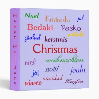 """Navidad en todo el mundo en azul y el rojo III Carpeta 1"""""""