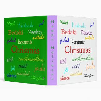 """Navidad en todo el mundo en blanco y el verde IIII Carpeta 1"""""""