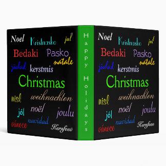 """Navidad en todo el mundo en el negro III Carpeta 1"""""""