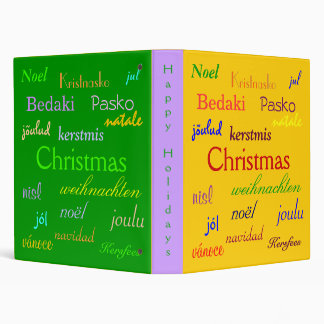 """Navidad en todo el mundo en el oro y el verde III Carpeta 1"""""""