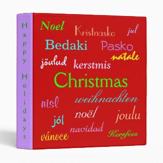 """Navidad en todo el mundo en el rojo y el oro III Carpeta 1"""""""