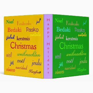 """Navidad en todo el mundo en el verde y el oro III Carpeta 1"""""""