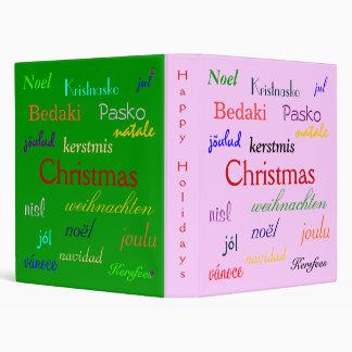 """Navidad en todo el mundo en I rosado y verde Carpeta 1"""""""