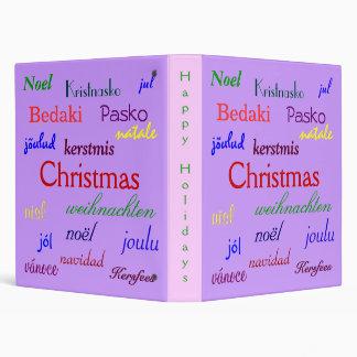 """Navidad en todo el mundo en la púrpura II Carpeta 1"""""""