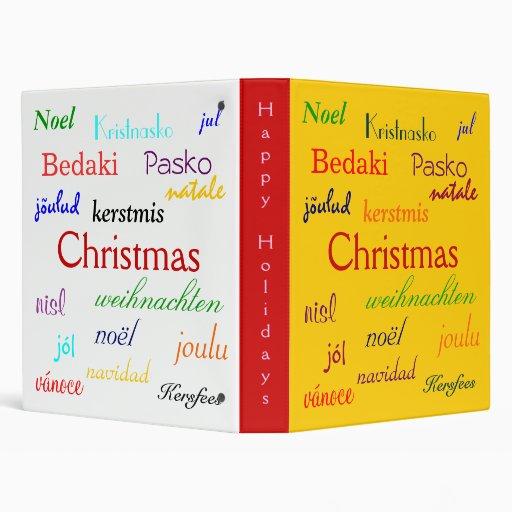 Navidad en todo el mundo en oro y V blanco