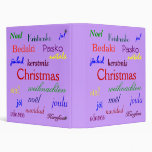 Navidad en todo el mundo en púrpura
