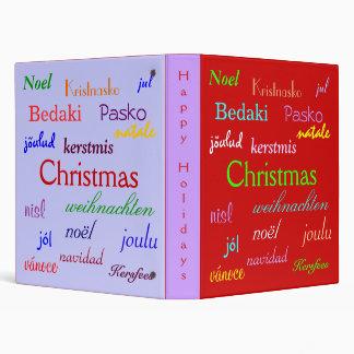 """Navidad en todo el mundo en rojo y el azul III Carpeta 1"""""""