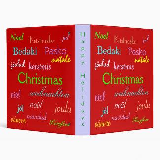 """Navidad en todo el mundo en V rojo Carpeta 1"""""""