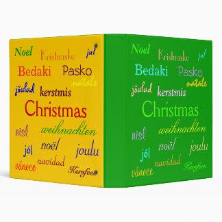 """Navidad en todo el mundo en verde y oro carpeta 1"""""""