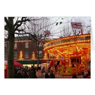 Navidad en York Tarjeta De Felicitación