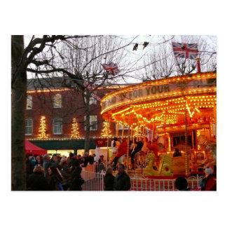 Navidad en York Tarjeta Postal