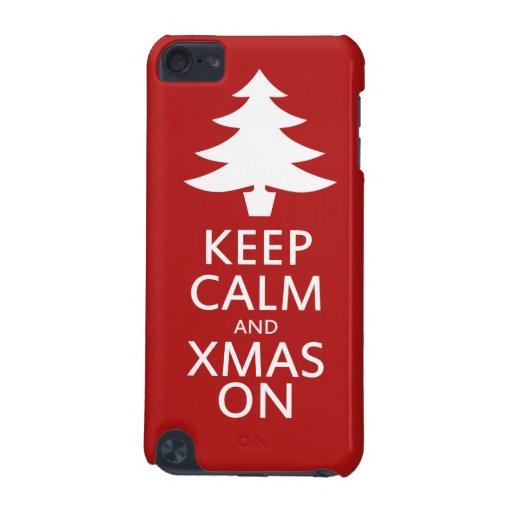 Navidad encendido funda para iPod touch 5G