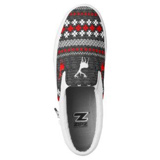 Navidad escandinavo de la diversión modelado zapatillas
