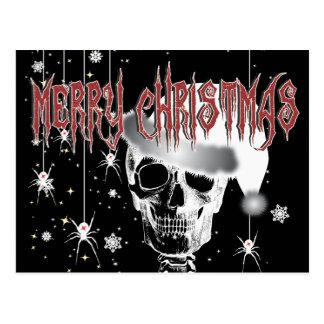 Navidad espeluznante postal