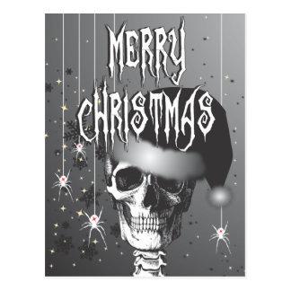Navidad espeluznante postales